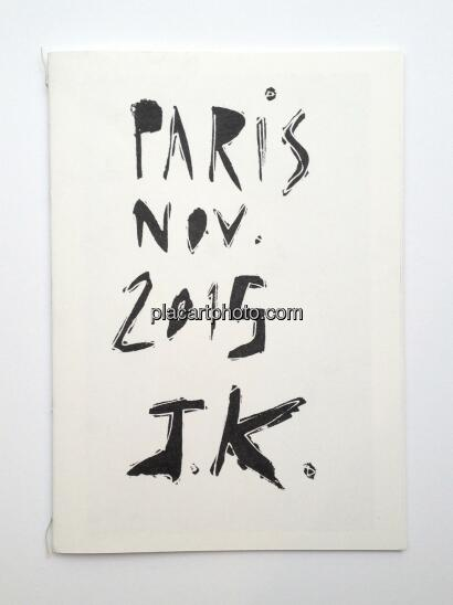 Joakim Kocjancic,Paris Nov. 2015 (ONLY 50 COPIES)