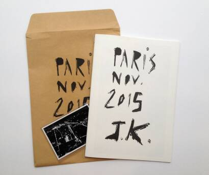 Joakim Kocjancic,Paris Nov. 2015 (ONLY 50 COPIES)