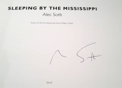 Alec Soth,Sleeping by the Mississippi (SIGNED)