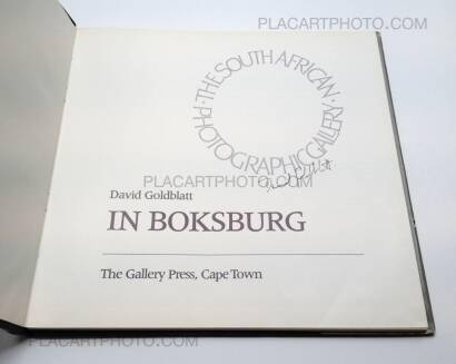 David Goldblatt,In Boksburg (Signed)