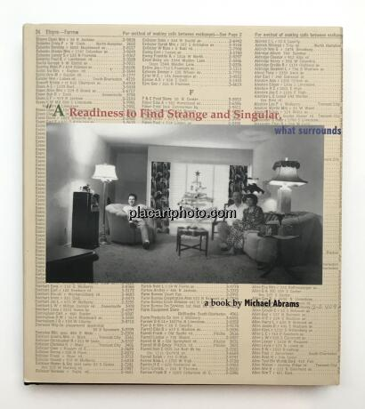 Michael Abrams,A readiness to find strange and singular (SIGNED)