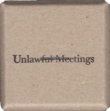 Lina Hashim,Unlawful Meetings (signed)