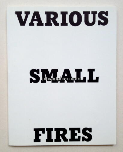 Ed Ruscha,Various Small Fires and milk
