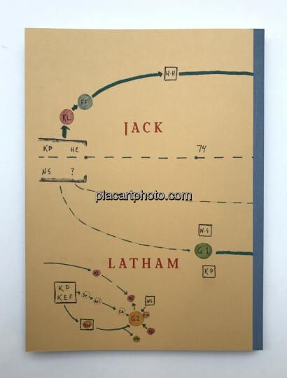 Jack Latham,Sugar Paper Theories (ONLY 25 COPIES - SPECIAL EDITION) Last copies!!