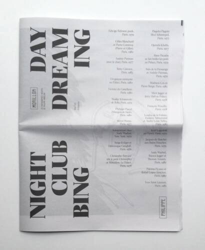 Philippe Morillon,Day dreaming / Night clubbing (ONLY 70 copies )