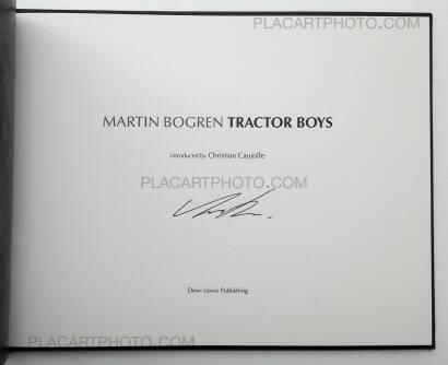 Martin Bogren,Tractor Boys (SIGNED)