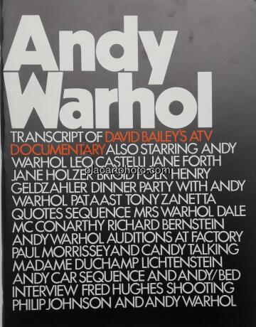 David Bailey,Andy Warhol (transcript of David Bailey's ATV documentary)