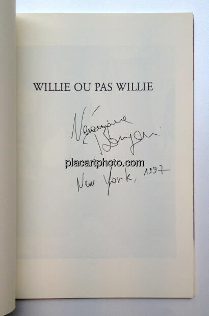 Véronique Bourgoin,Willie ou pas Willie (Signed)