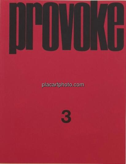 Collectif,PROVOKE MAGAZINES (FACSIMILE EDITION) AVAILABLE THE 11th OF NOVEMBER WITH A DRINK