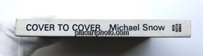 Michael Snow,Cover to Cover (RARE HARD COVER EDT)