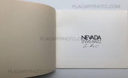 Lewis Baltz,NEVADA (SIGNED)