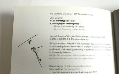 Jens Liebchen,DL07 (Signed and numbered)