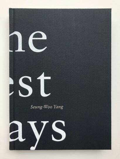 Seung-woo Yang,The Best Days (Signed)