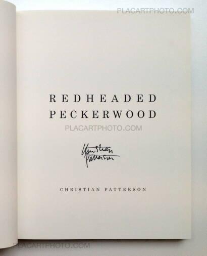 Christian Patterson,Redheaded Pickerwood
