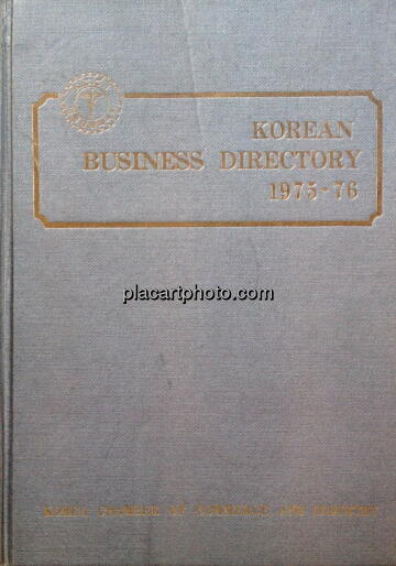 Christoph Büchel,Korean Business Directory 1975-1976