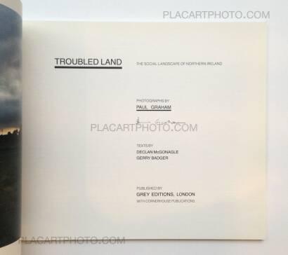 Paul Graham,Troubled Land (WITH 3 VINTAGE PRINTS)