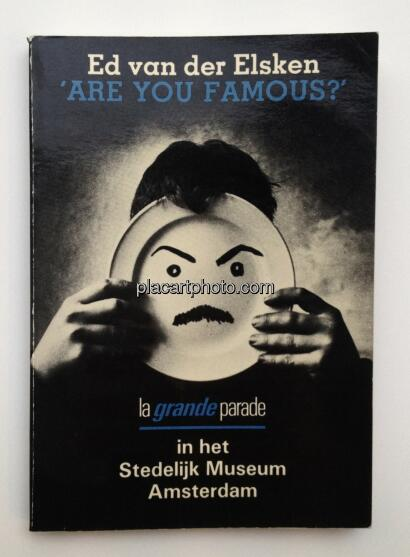 Ed van der Elsken,Are you famous ? (dedicated with drawing!)