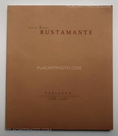 Jean-Marc Bustamante,Tableaux 1978-1982 (SIGNED)