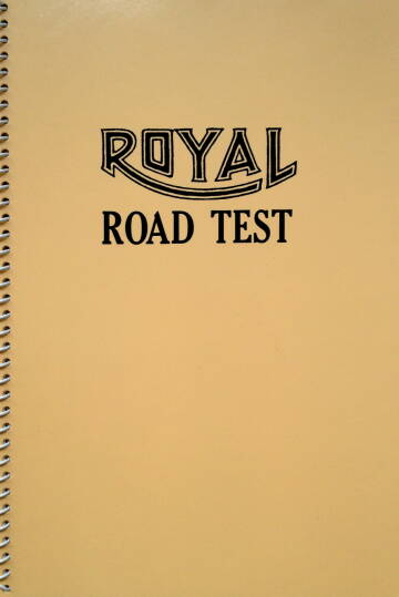 Ed Ruscha, Royal Road Test
