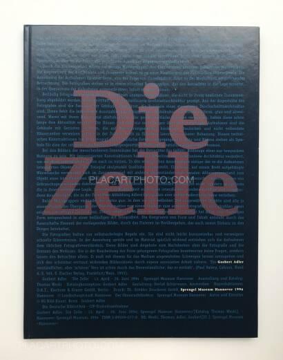 Gosbert Adler,Die Zelle (SIGNED)
