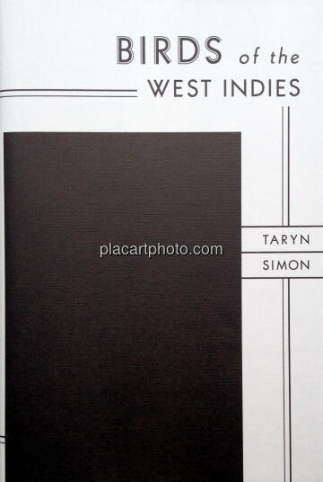 Taryn Simon,Birds of the West indies