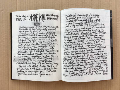 Julie Glassberg,BIKE KILL (Signature in Arles on Friday 6th of July at 6pm)