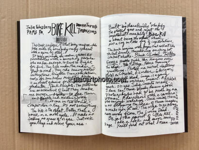 Julie Glassberg,BIKE KILL (Signed)(Back in Stock)