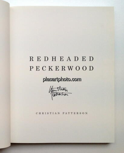 Christian Patterson,Redheaded Pickerwood