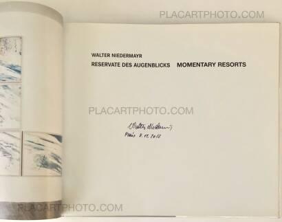Walter Niedermayr,Reservate des Augenblicks / Momentary Resorts (Signed)