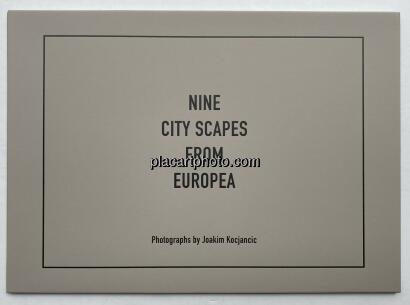 Joakim Kocjancic,Nine City Scapes From Europea (limited edition of 100)