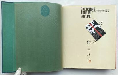 Yoichi Midorikawa,Sketching Tour in Europe (signed and dedicated)