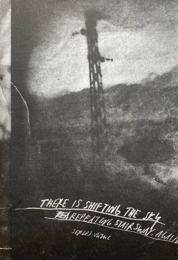 Sergej Vutuc,THERE IS SHIFTING THE SKY REPEATING STAIRSWAY, AGAIN (Signed)