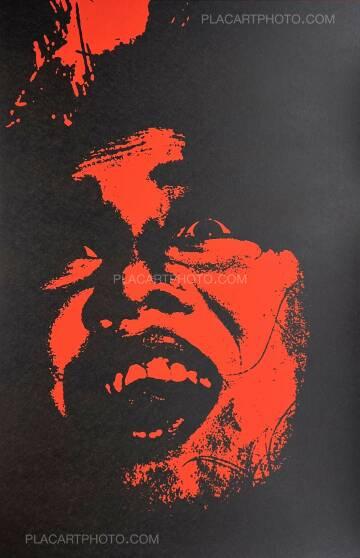 Keizo Kitajima,Silkscreen TOKYO EXPRESS-09 / Red & Black version Edt 5/9 (Signed and numbered)
