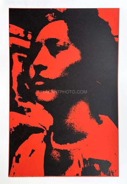 Keizo Kitajima,Silkscreen TOKYO EXPRESS-16 / Red & Black version Edt 4/9 (Signed and numbered)