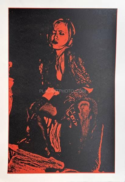 Keizo Kitajima,Silkscreen NEW_YORK-02 / Red & Black version Edt 3/9 (Signed and numbered)