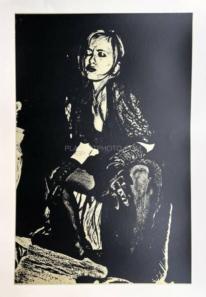 Keizo Kitajima,Silkscreen NEW_YORK-02 / Gold & Black version Edt 2/9 (Signed and numbered)