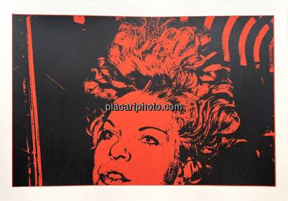 Keizo Kitajima,Silkscreen NEW_YORK-04 / Red & Black version Edt 2/9 (Signed and numbered)