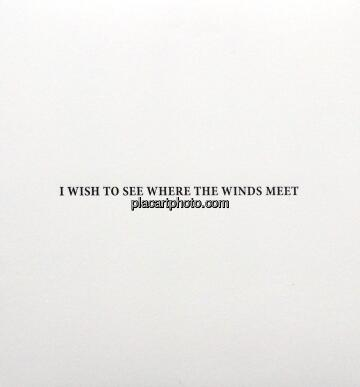 Christian Bragg,I wish to see where the winds meet (Deluxe Gravure Edition on 30)