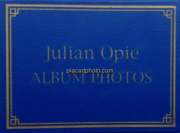 Julian Opie,Album Photos
